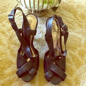 Carlos santana black heels